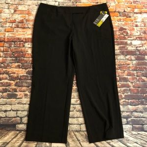 Style & co. Sz 20wp black straight leg pants